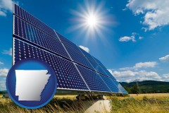 arkansas solar energy panels with photovoltaic cells