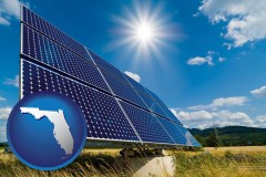 florida solar energy panels with photovoltaic cells