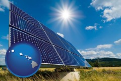 hawaii solar energy panels with photovoltaic cells