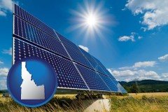idaho solar energy panels with photovoltaic cells