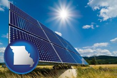 missouri solar energy panels with photovoltaic cells