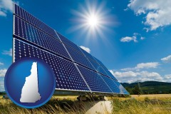 new-hampshire solar energy panels with photovoltaic cells
