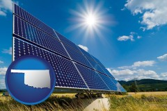 oklahoma solar energy panels with photovoltaic cells