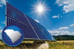south-carolina solar energy panels with photovoltaic cells